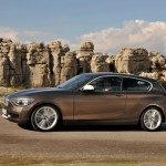 Der neue 1er BMW in der Seitenansicht