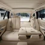 Rücksitzbank geteilt im neuen BMW 3er Touring