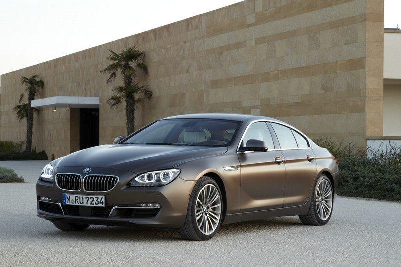 BMW 6er Gran Coupe 2012 in der Frontansicht