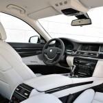 Der Innenraum der neuen BMW 7er