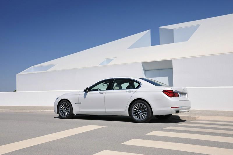 Der neue BMW 7er in weiss