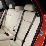 Die hinteren Sitze des BMW X1