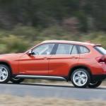 Der neue BMW X1 in der Seitenansicht