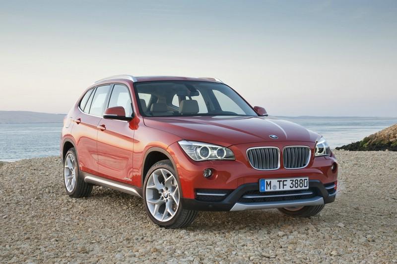 Der neue BMW X1 am Meer
