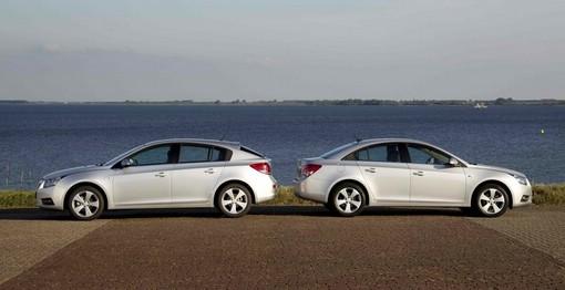 Chevrolet Cruze als Stufenheck und Steilheck