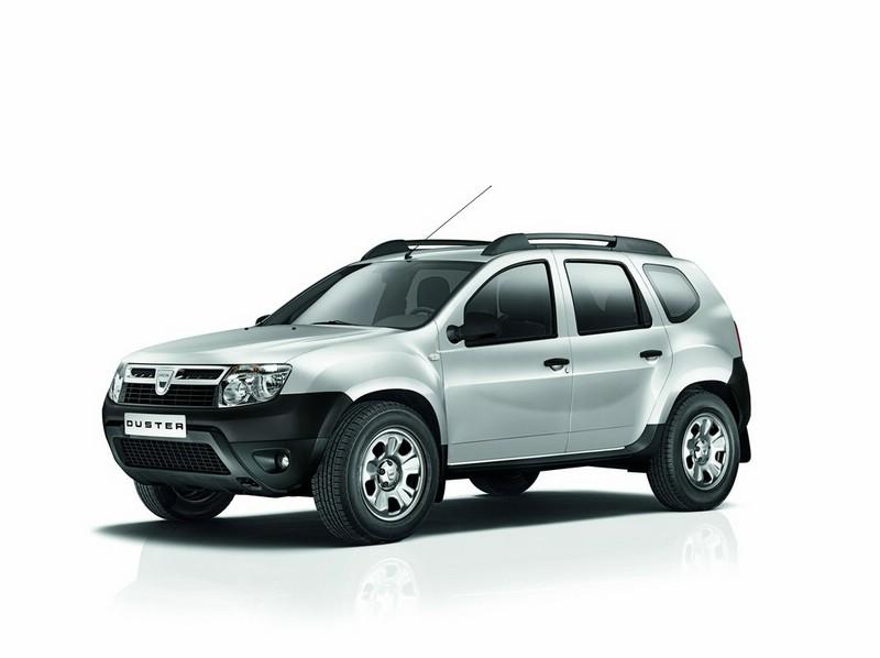 Das Dacia Duster Sondermodell Ice in der Front - Seitenansicht
