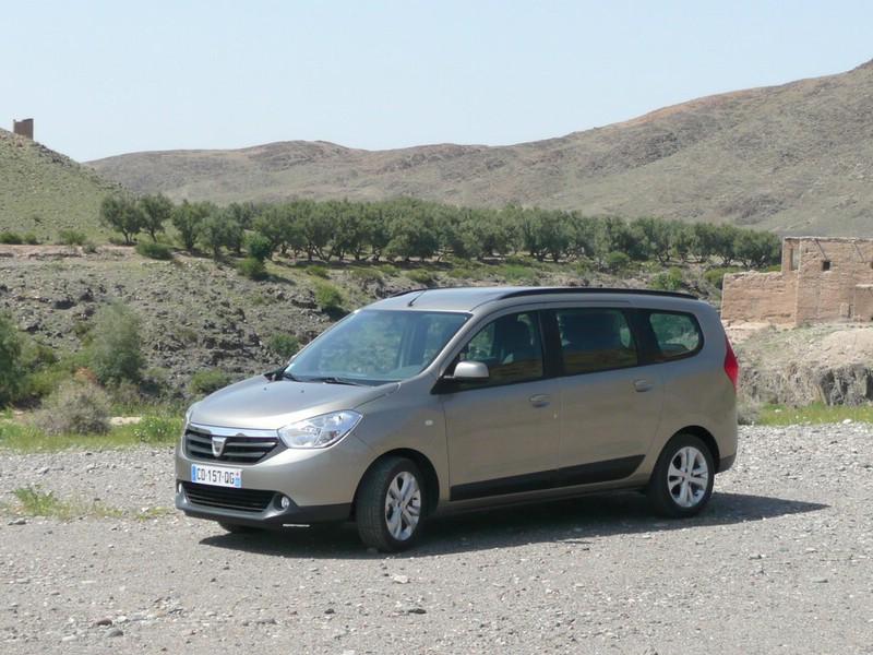 Dacia Lodgy (Standaufnahme)