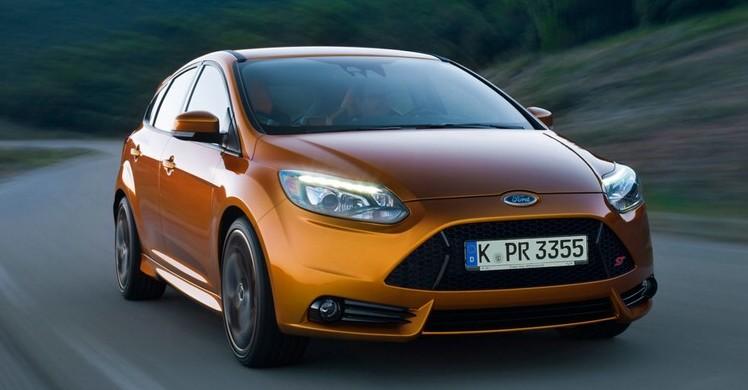 Ford Focus ST in der Frontansicht