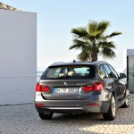 Die Heckpartie des neuen BMW 3er Touring
