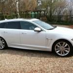 Der Jaguar XF Sportbrake kommt noch 2012