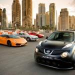 Nissan Juke-R mit weiteren Sportwagen