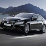 Lexus GS 450h F Sport in Schwarz