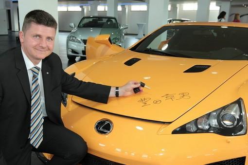 Lexus LFA mit Nürburgring-Performance-Paket für Erich Weinberger