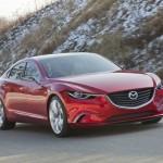 Neuer Mazda Takeri in der Frontansicht