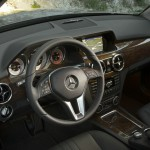 Das Cockpit des Mercedes-Benz 220 GLK 4Matic Blue Efficiency