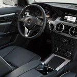 Das Cockpit des neuen Mercedes-Benz GLK