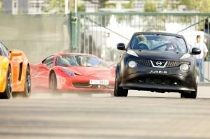 Nissan Juke-R (Fahraufnahme)