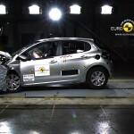 Der neue Peugeot 208 im Crashtest