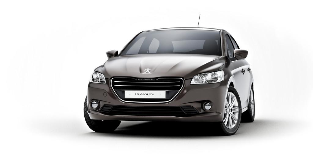 Frontansicht des Peugeot 301