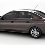 Der neue Peugeot 301 in der Seitenansicht