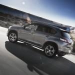 Der neue Peugeot 4008 in der Seitenansicht