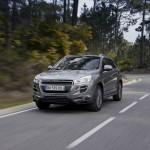 Neuer Peugeot 4008 in der Frontansicht