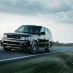 Range Rover Sport Black Edition in der Frontansicht (Fahraufnahme)