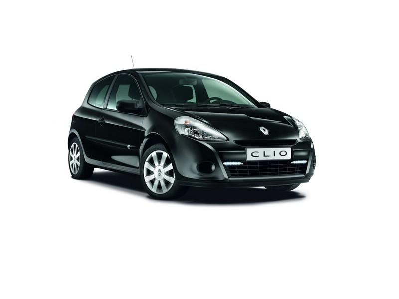 Renault Clio als Sondermodell GPS in Black