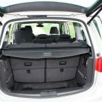 Der Kofferraum des Seat Alhambra