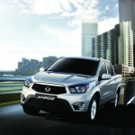 Ssangyong Actyon Sports in Silber