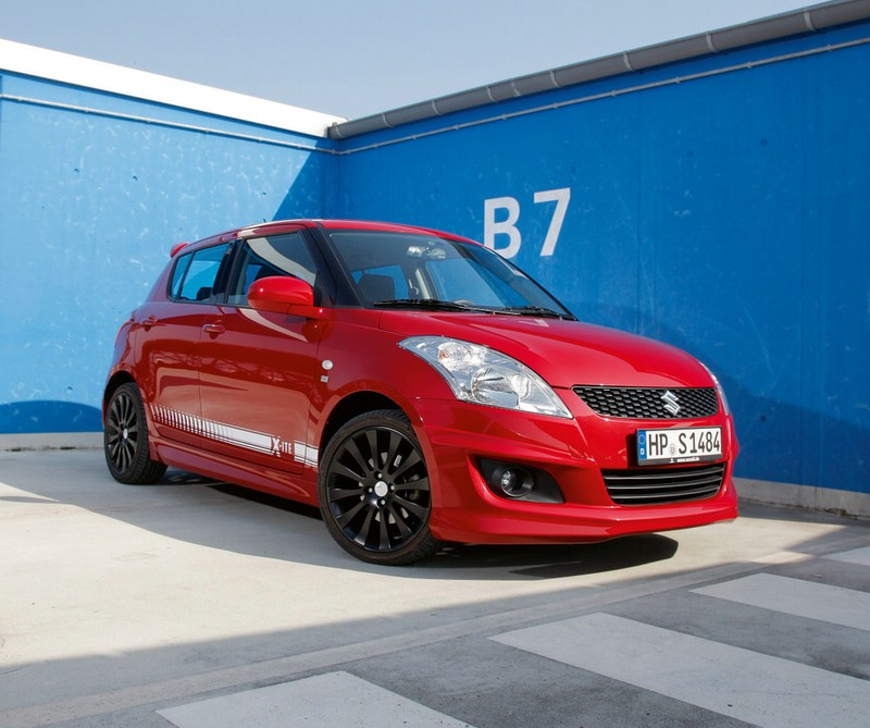Sondermodell Suzuki Swift X-ite in Rot