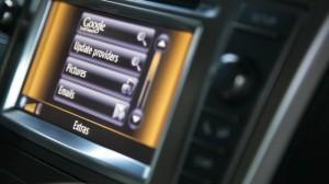 Das Display im Toyota Avensis
