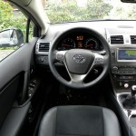 Das Interieur des Toyota Avensis