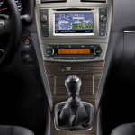 Toyota Avensis Mittelkonsole - Navi