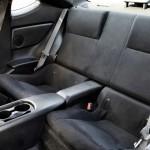 Der Innenraum des Toyota GT86 - Rücksitze