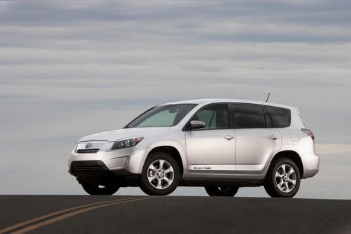 Elektroauto Toyota RAV4 EV für den US-Markt