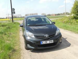 Toyota Yaris XP13 in der Frontansicht