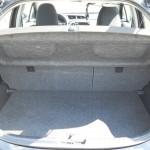 Der Kofferraum des Toyota Yaris