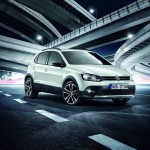 VW Sondermodell CrossPolo als Urban White