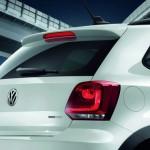 Heck des Volkswagen CrossPolo Urban White