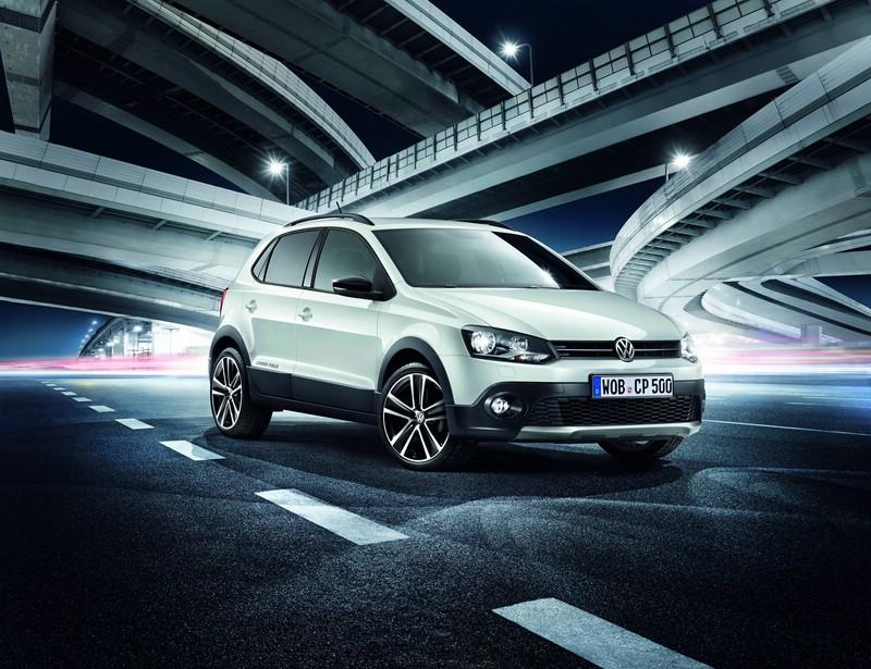VW Sondermodell CrossPolo als Urban White