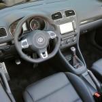 Cockpit des Vw Golf GTI Cabriolet