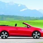 Das neue VW Golf Typ 1K GTI Cabriolet