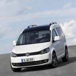 Volkswagen Caddy Edition 30 in der Frontansicht