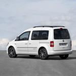 Volkswagen Caddy Edition 30 in der Heckansicht