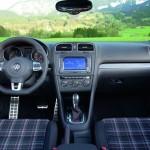 Das Interieur des Volkswagen Golf GTI Cabrio