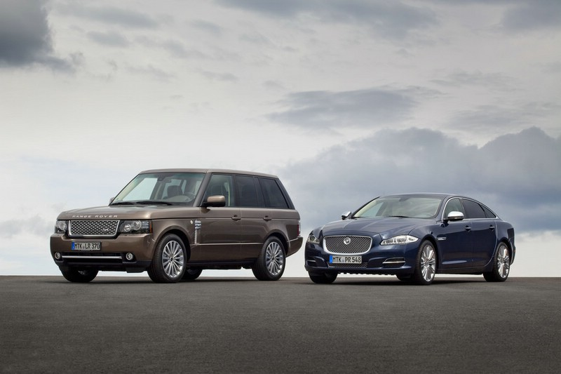 Sondermodelle Range Rover Westminster und Jaguar XJ Diamond Edition