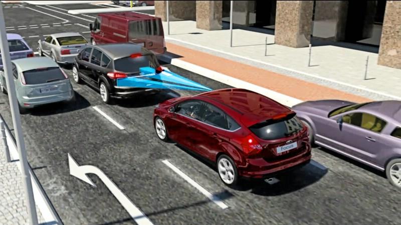 Automatische Bremsassistent Active City Stop