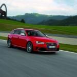 Der neue Audi RS 4 Avant auf der Teststrecke