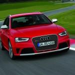 Audi RS 4 Avant in Rot
